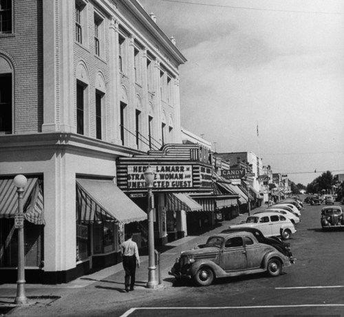 Allan Grant, Dinuba, California, April 1947.