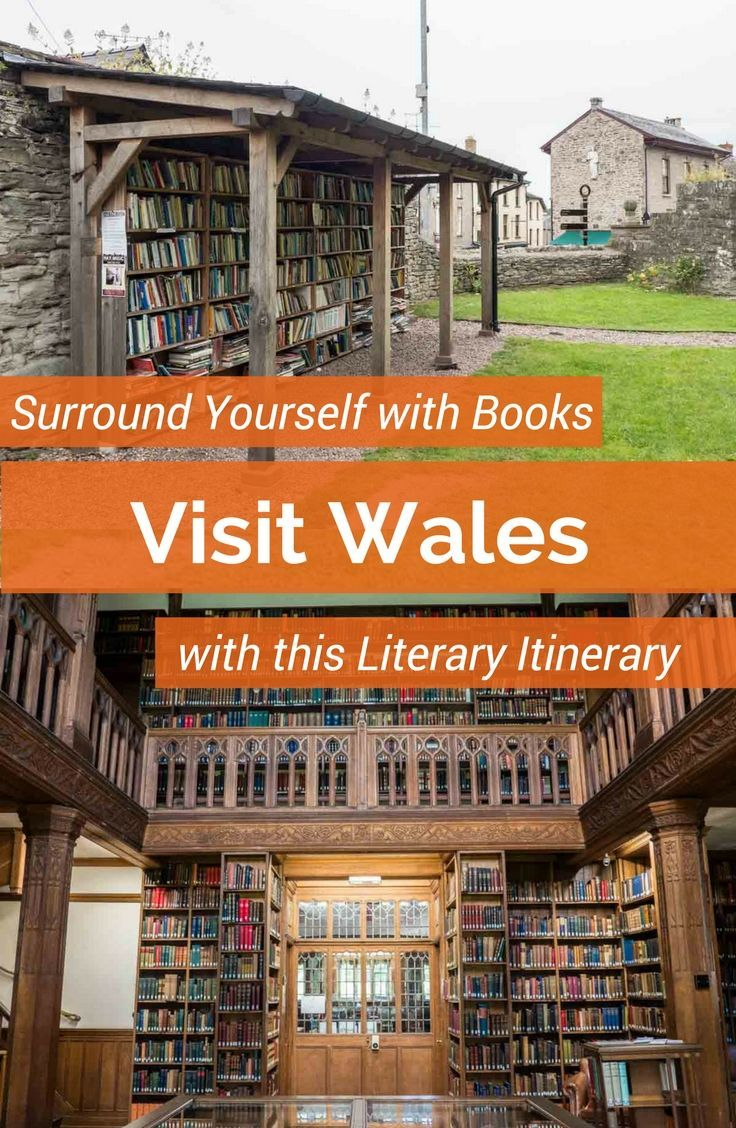 Surround yourself with books: Visit Wales with this literary itinerary