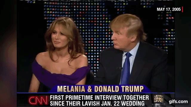 Donald and Melania Trump's 2005 interview as newlyweds (CNN Larry King ...