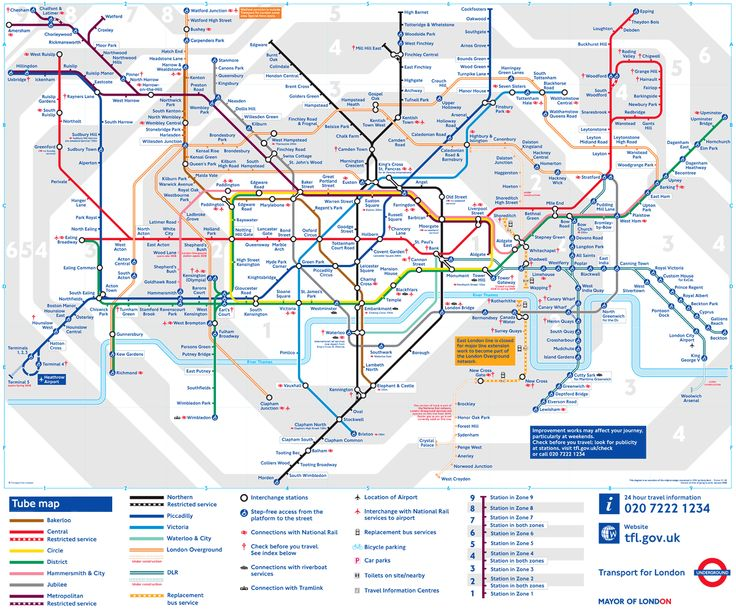 The Best Underground Tube Ideas On Pinterest London - Northern line map london