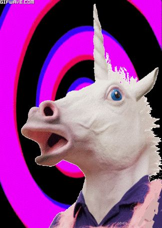 Resultado de imagen para gifs unicornios