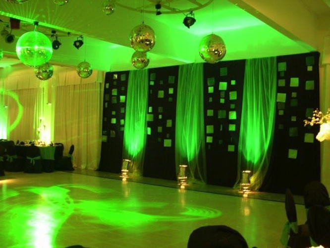 Luces y telas celebraciones decoraci n eventos pinterest for Telas para decorar salones