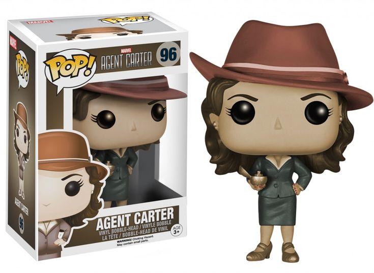 Agent Carter Sepia Tone Pop figure by Funko, Amazon exclusive