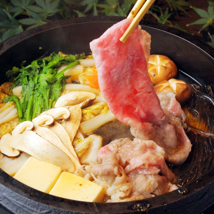 絶品の神戸牛ですき焼きを 冬めく神戸で厳選した神戸牛料理の銘店