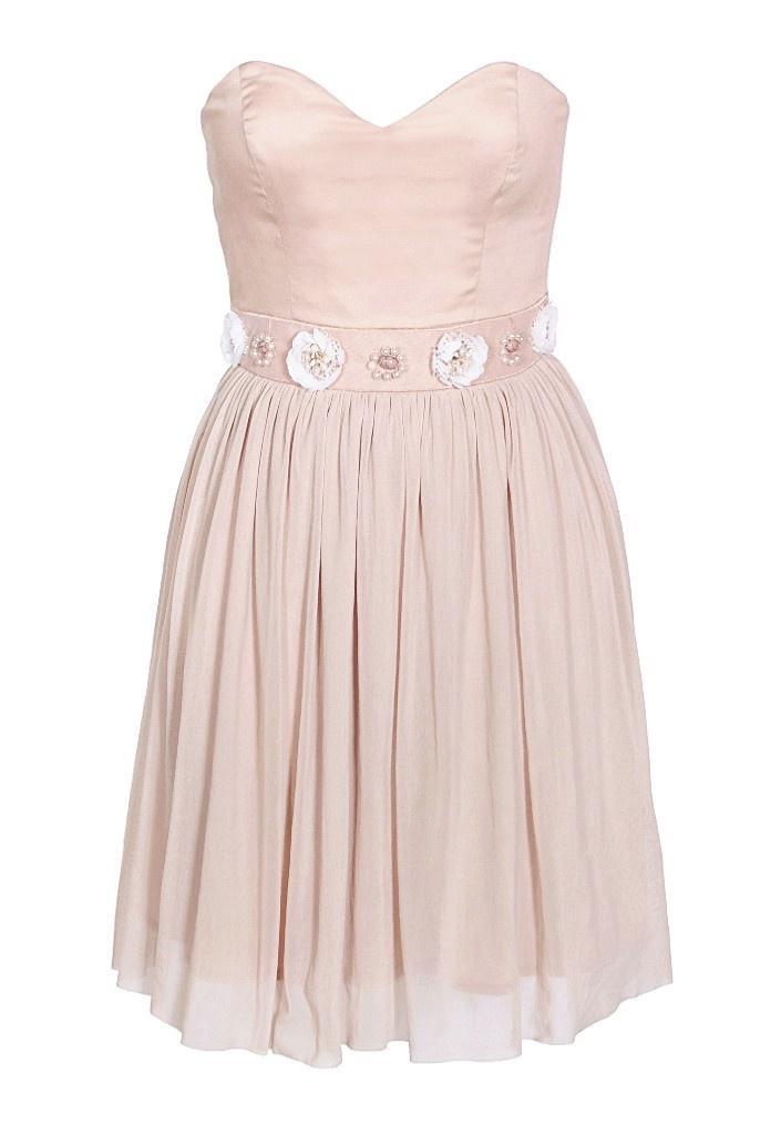 Elise Ryan Nude Wedding Guest Dress