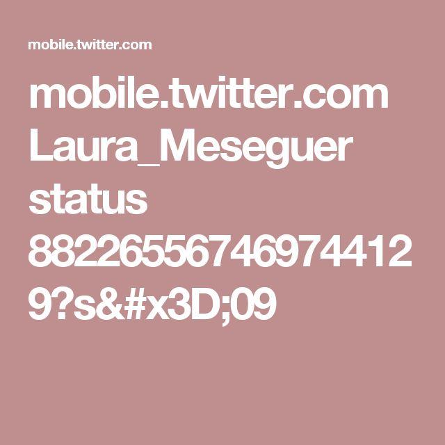 mobile.twitter.com Laura_Meseguer status 882265567469744129?s=09