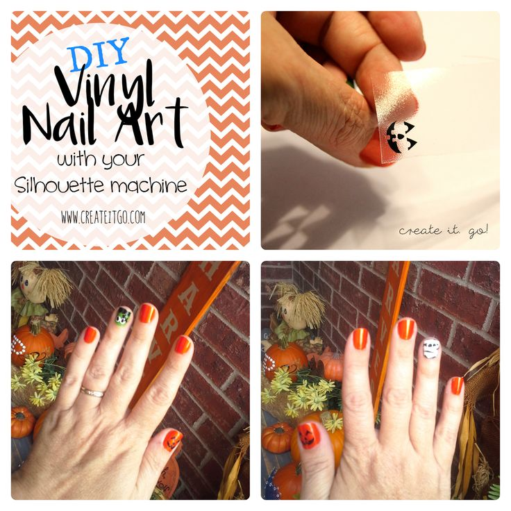 The  Best DIY Vinyl Nails Ideas On Pinterest - How to make vinyl nail decals with cricut