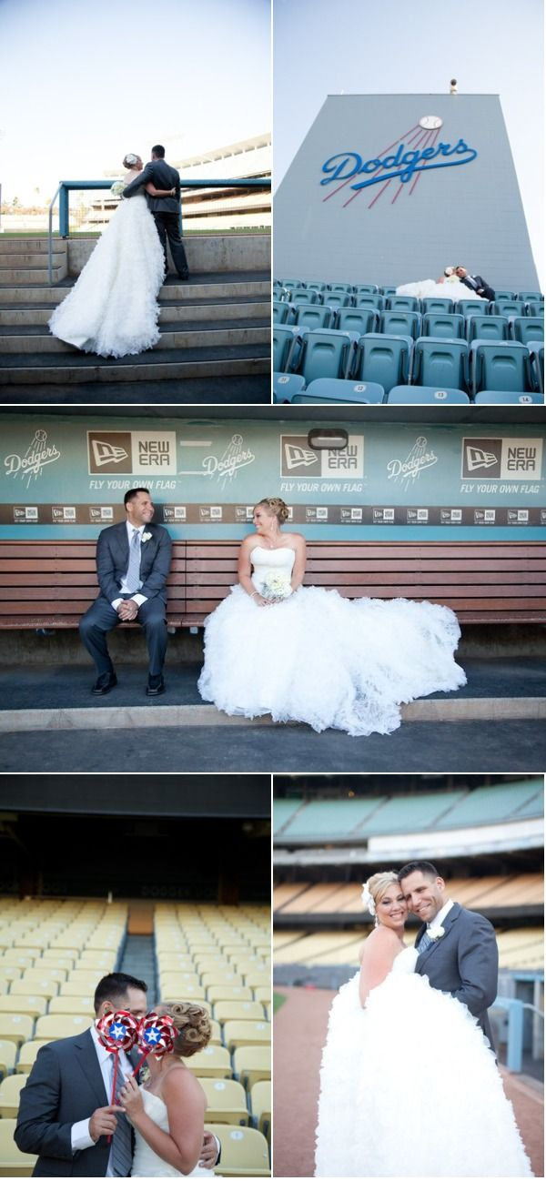 IF I ever get married this is a MUST DO... at the Ballpark at Arlington of course!