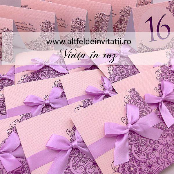 Imagini pentru invitaţi  cu roz şi albastru