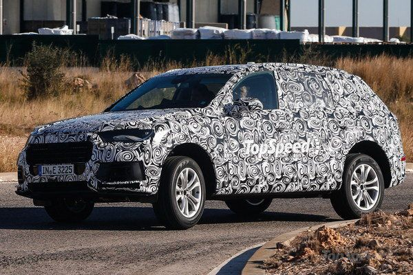 Spy Shots: Next Audi Q7 Testing In Spain
