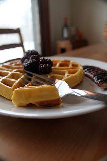 Coconut Flour Waffles #low-carb #gluten-free #paleo