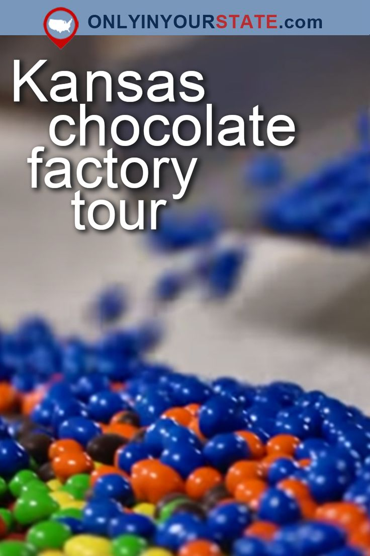 Travel | Kansas | USA | Attractions | Places To Visit | Dessert | Chocolate Factory | Foodie | Things To Do | Day Trips | Chocolate | Candy | Sweets | Bucket List | M&Ms | Topeka | Delicious | Destinations | Road Trips