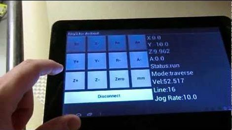 android-cnc-controller