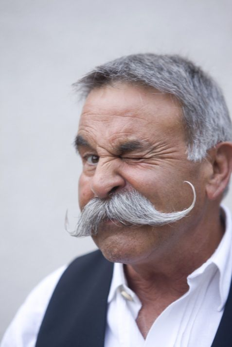 old men and mustache's. omg.