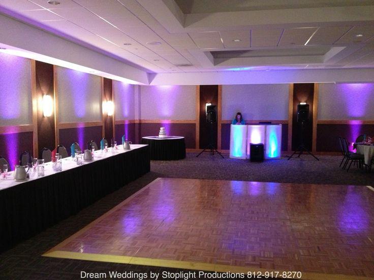 Meadows Banquet Center With Our Purple Lighting Design Stoplightproductions Biz