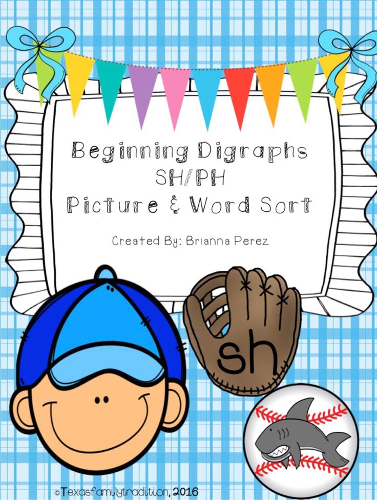 To use this resource, cut out and laminate the baseball gloves and baseballs. Place them in a center with the recording sheet. Students will sort the words and pictures according to if the baseball is a beginning digraph sh or ph. You can choose to use just the picture baseballs, word baseballs, or both if you want. For 1st and 2nd grade.