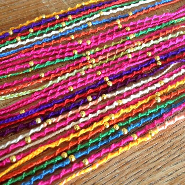 15 best ideas to make rakhi at home for rakshabandhan for Home material pictures