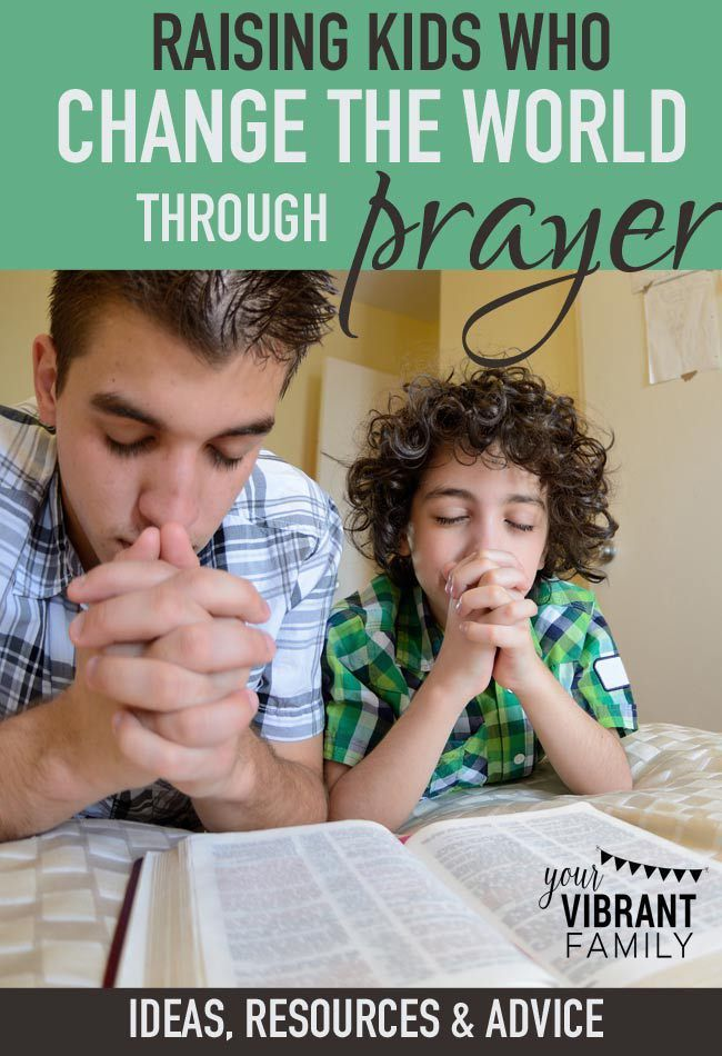 Praying kids are kids that can literally change the world with their words! How can we encourage our children toward a lifestyle of prayer? You've got to check out this list of ideas, resources and stories from a mom of four. You can raise kids who change the world through prayer too!