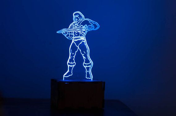 He-Man rainbow night light LED night lights rainbow by lampUp