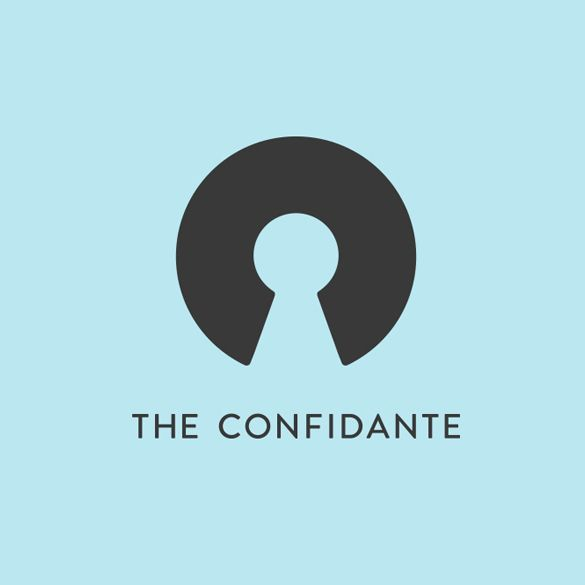 Logo designed by Re for executive coaching and mentoring service The Confidante