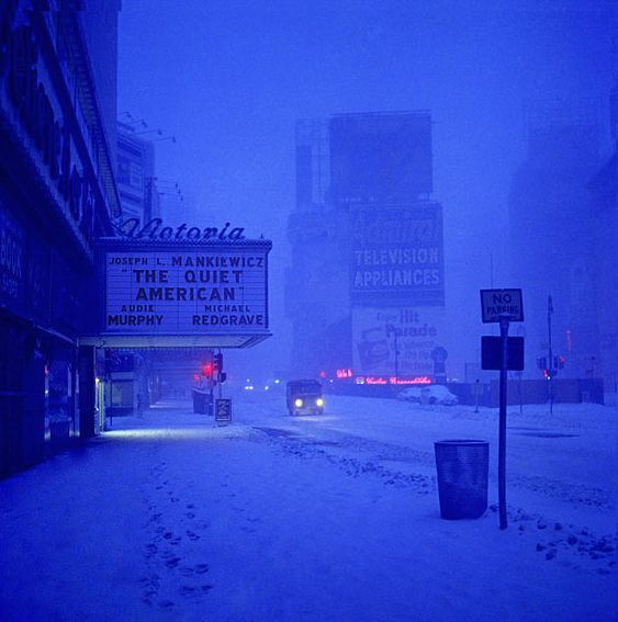 The Quiet American, Photo by Pete Turner, 1958