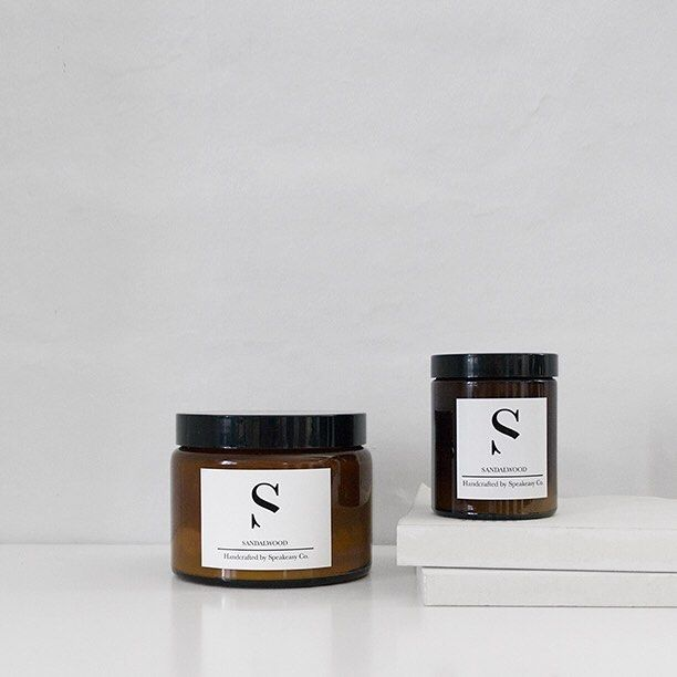 Stunning amber glass jar candles in irresistible scents like Salted Caramel!