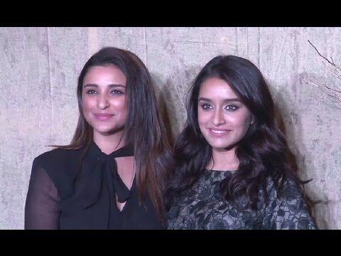 Shraddha Kapoor & Parineeti Chopra At Manish Malhotra's 51st Grand Birthday Bash.