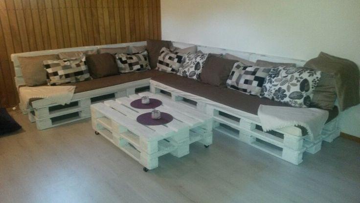 Lastpall soffa
