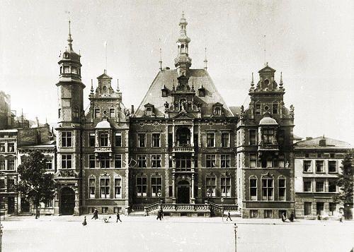 Das Landeshaus der Provinz Westpreussen in Danzig ca 1900