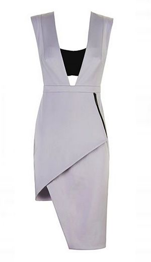 Spring Racing Fashion: Manning Cartell - Contrasting Love Asymmetric Dress