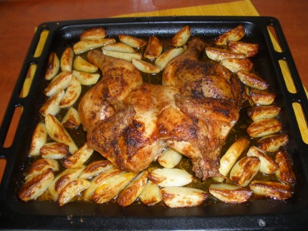 Jednoduché pečené kura - obrázok 3