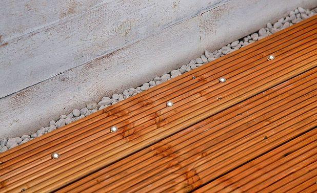 Terrassen-Einbauspots aus LED
