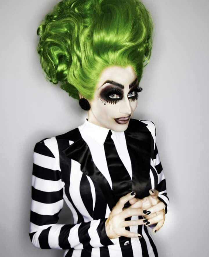 'Bianca-geuse', Bianca Del Rio as Beetleguese for Halloween, RPDR6 winner