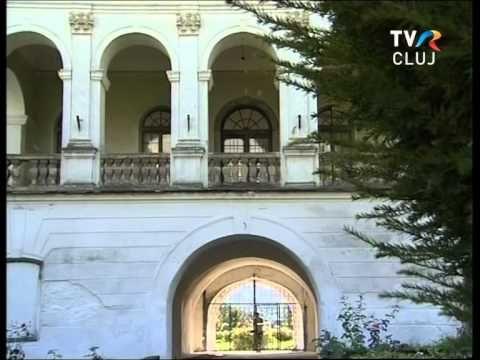 A zsibói Wesselényi-kastély udvarán