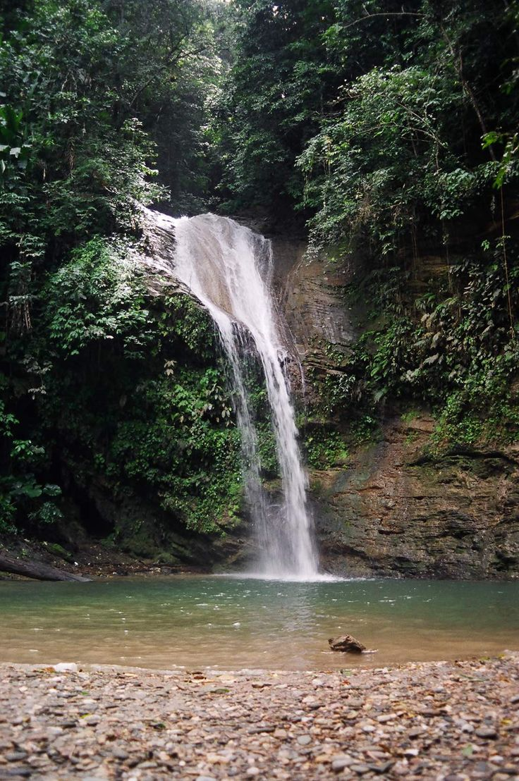 Waterfalls In Trinidad   Blue Basin Waterfall would love this spot to see on a vacation #RELAXING