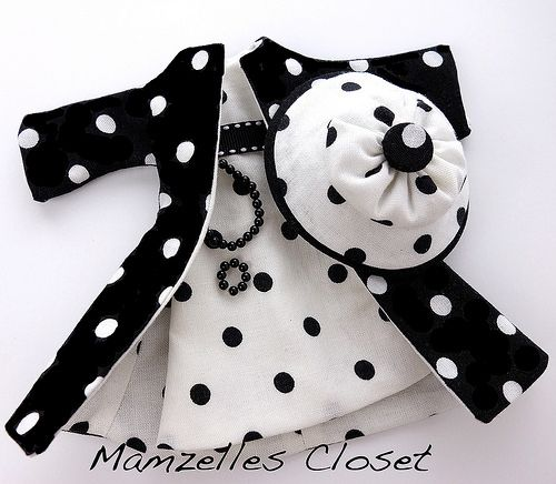 Mamzelle bwhite dot coat dress | by Mamzelles Closet | Carol | Flickr