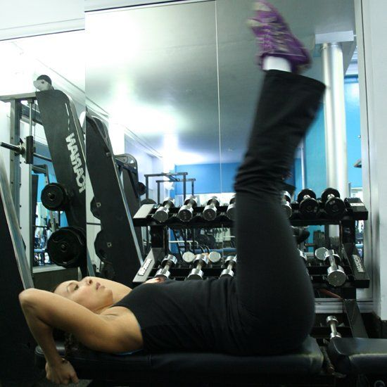 Challenge Your Abs and Work on the Weight Bench