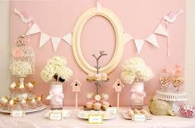 the girliest buffet EVER!Shower Ideas, Birds Theme, Baby Shower Theme, Birthday Parties, Parties Ideas, Bridal Shower, Birds Parties, Desserts Tables, Baby Shower