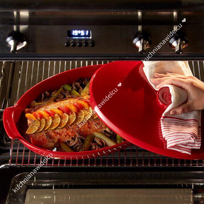 Ceramiczna brytfanna do pieczenia we własnym sosie papilotte   EMILE HENRY