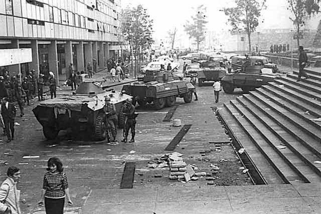 México conmemora el 45 aniversario de la matanza de Tlatelolco - Diario Judío: Diario de la Vida Judía en México y el Mundo