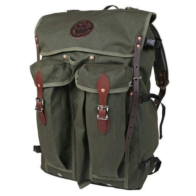 Bushcrafter Pack - Camp & Hike - Outdoors :: Duluth Pack :: Made in the USA :: Quality leather and canvas luggage, backpacks, camping, and outdoor gear.