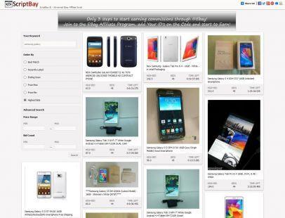 ScriptBay Advanced Ebay Affiliate Search