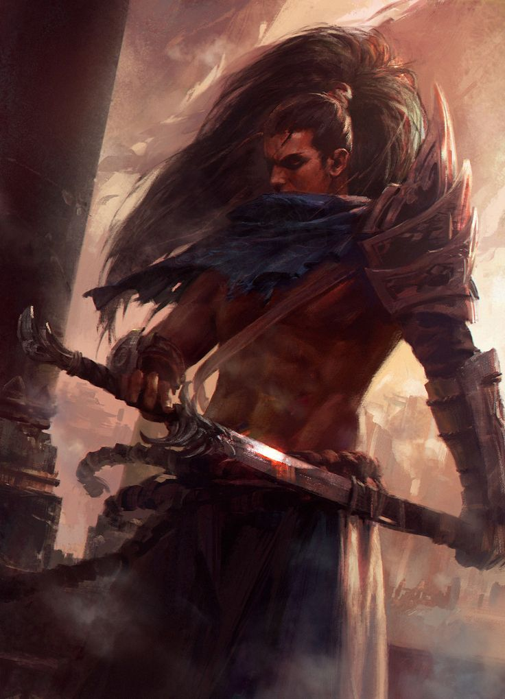 Yasuo,League of Legends,Лига Легенд,фэндомы,LoL art,Mazert Young