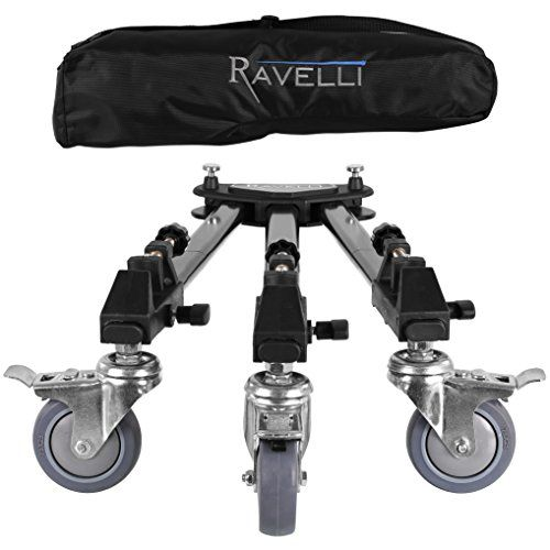 Ravelli Atd Professional Tripod Dolly For Camera Photo Video, 2015 Amazon Top Rated Tripods & Monopods #Photography