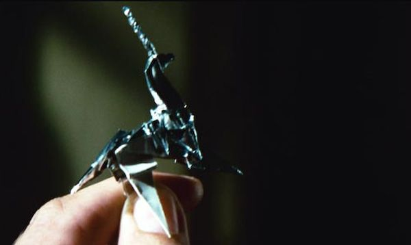 Blade Runner Origami Unicorn
