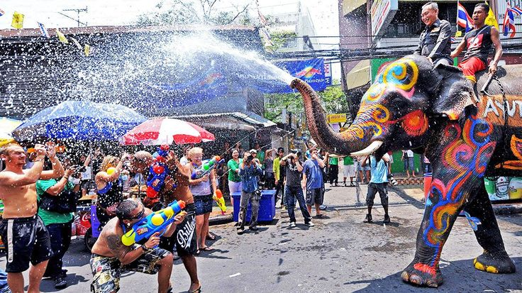 Songkran Festival in Thailand - The Thai New Year