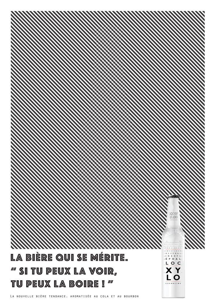 Bière - Xylocéphaline - Print