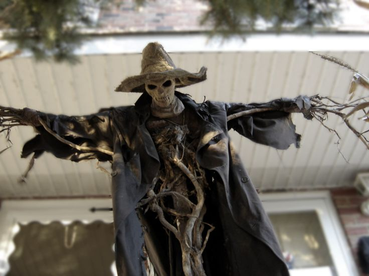 Pumpkinrot Yard Haunt - My inspiration for Fencepost Johnny