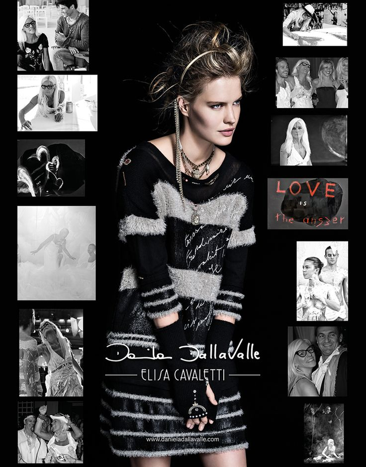 #danieladallavalle #elisacavaletti #campaign #fw15 #collection