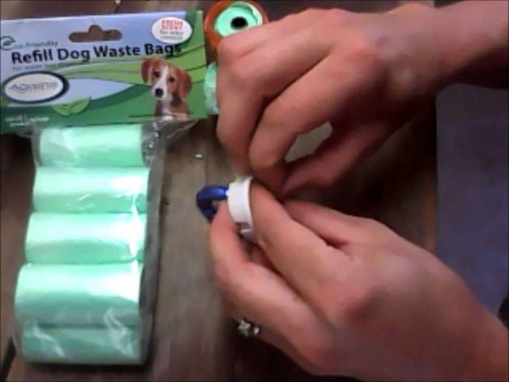 Dog Waste Bag Dispenser- How to Make a Dog Bag Holder- Video Training